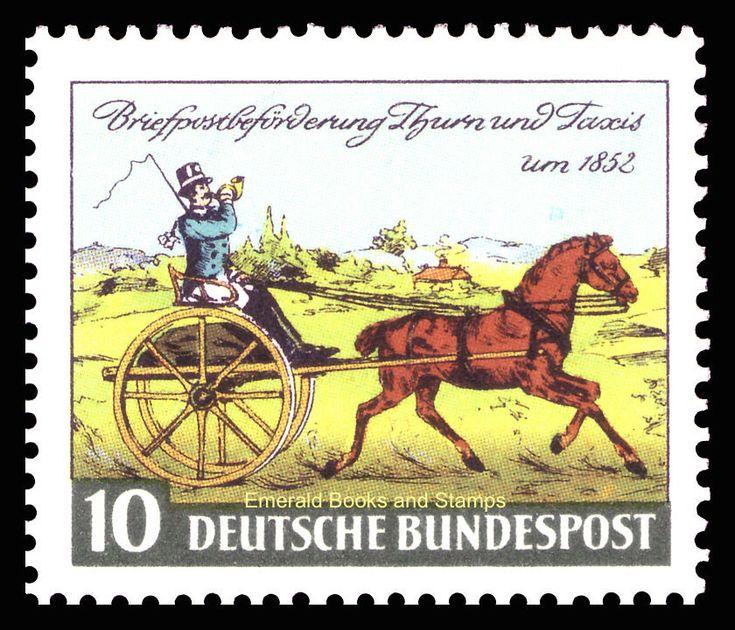 EBS Germany 1952 Stamp Day Tag der Briefmarke Michel 160 MNH** | eBay