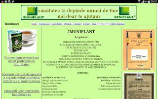 PSORIAZIS-CORESPONDENTA  DENIPLANT: Programul de slabit Deniplant