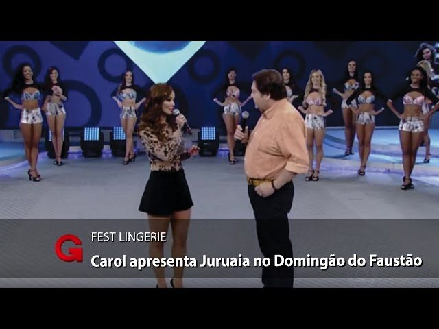 Juruaia é destaque no programa Domingão do Faustão