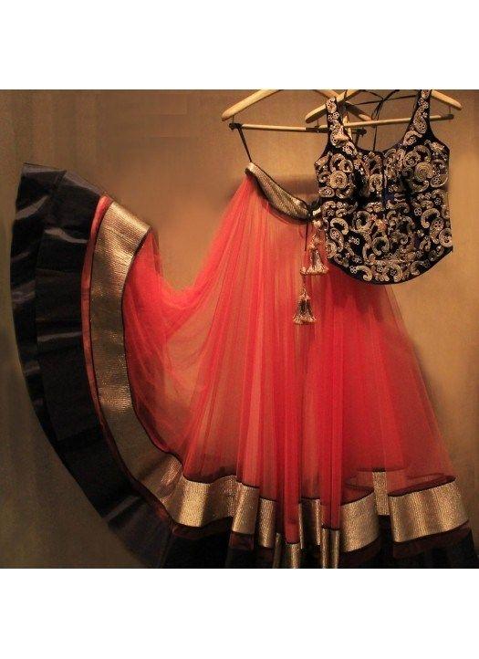 Fabboom New Red Colours Latest Arrival Designer Lehenga Choli