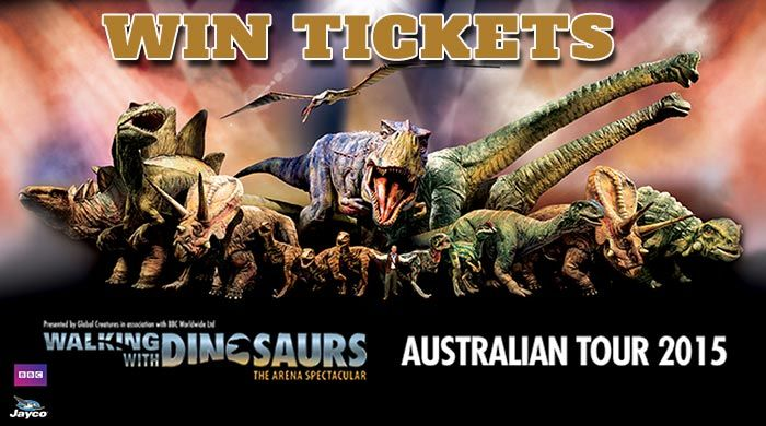 Get Up Close to Prehistoric Dinosaurs at Walking With Dinosaurs. Enter to WIN!  http://mumcentral.com.au/get-up-close-to-prehistoric-dinosaurs-at-walking-with-dinosaurs-enter-to-win/