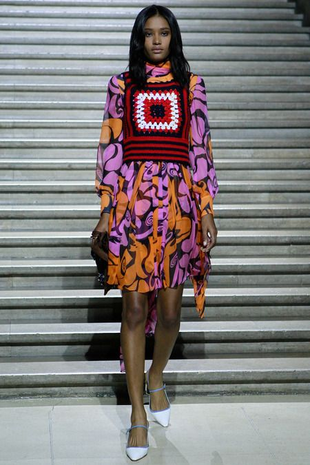 "Looks like "" rib ticklers "" are coming back according to Miu Miu Resort 2015 - Review - Vogue"