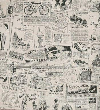 M s de 25 ideas fant sticas sobre papel pintado peri dico for Papeles pintados ingleses