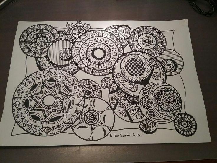 Circle doodle  #EliderCreation, #Doodle
