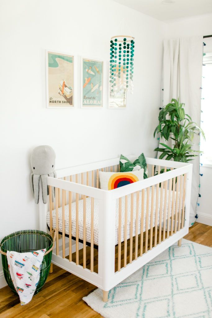 Hawaii Inspired Nursery Off In The Distant Future Pinterest Baby And Kids Bedroom