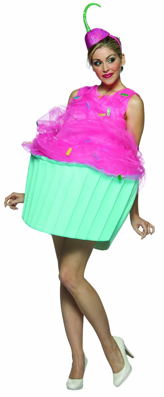 Sweet Eats Cupcake Costume sexy womens cupcake Halloween costume cupcake costume: Amazon.co.uk: Clothing