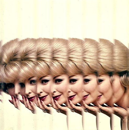 Sara Thom, photo by Jerry Schatzberg for Clairol ad campaign | Flickr - Photo Sharing!