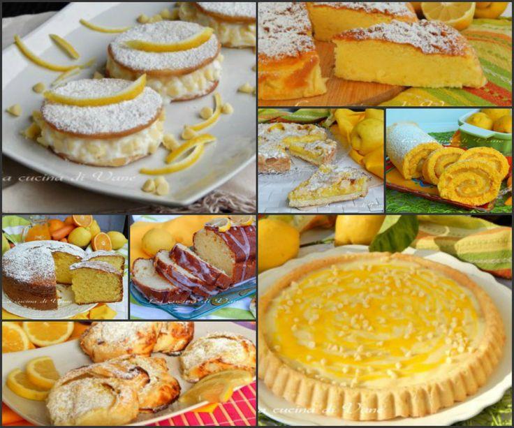 Raccolta+dolci+con+il+limone+ricette