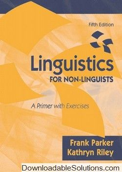 7 best text books images on pinterest livros math and mathematics solution manual for linguistics for non linguists a primer with exercises 5e frank parker fandeluxe Gallery