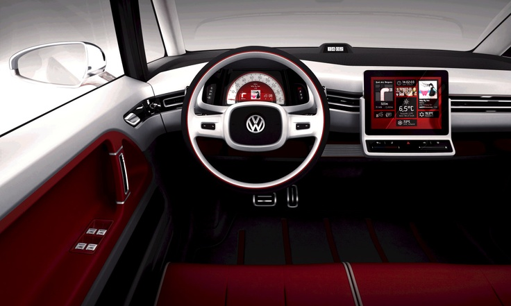 VW Bulli to connect to your iPad... love me some German engineering!