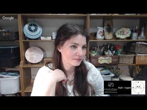 Ирина Ярощук Точечная роспись - YouTube