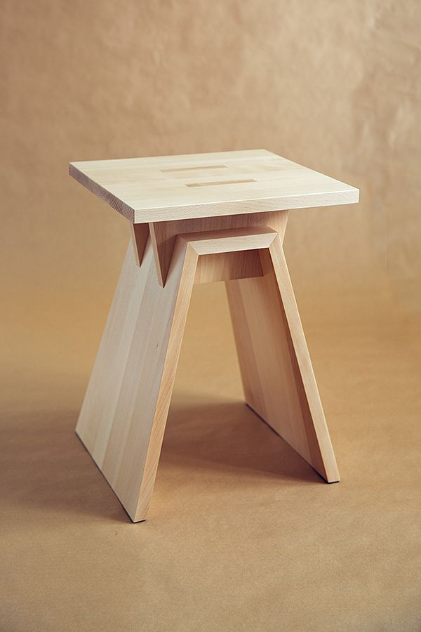 Stool by Dmitry Kutlayev, via Behance