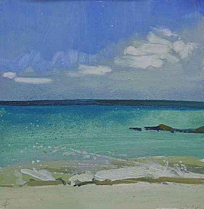 Clear Sea Porthmeor | Lucie Bray