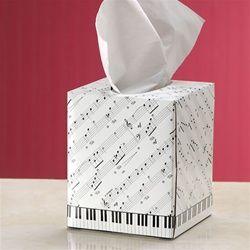 "Soft Sonata Sheet Music Tissue Box at The Music Stand (pun could be... soft ""snotta"" sheet music tissue box. Get it? Ba-da-boom! JFB 06-10-14)"