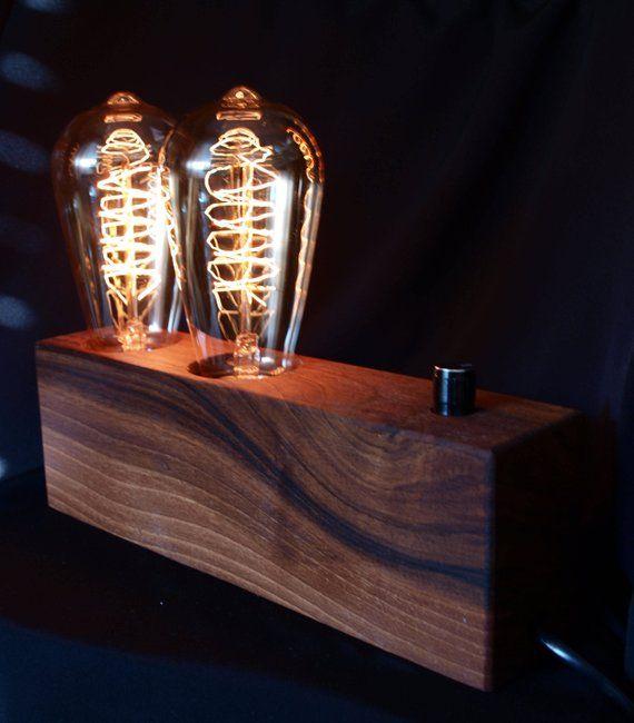 Lampe Edison Lampe Edison Lampe Vintage Lampe Industrielle Etsy Industrial Lamp Steampunk Lamp Vintage Lamps