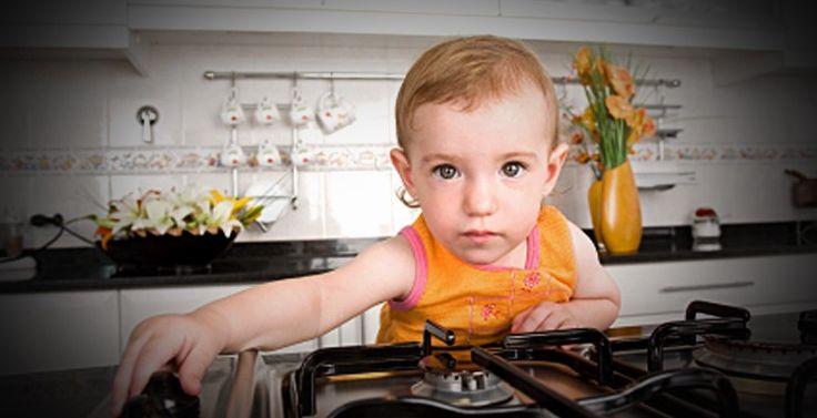 Ev Kazalarına Karşı çocuklar için güvenlik önlemleri alın.