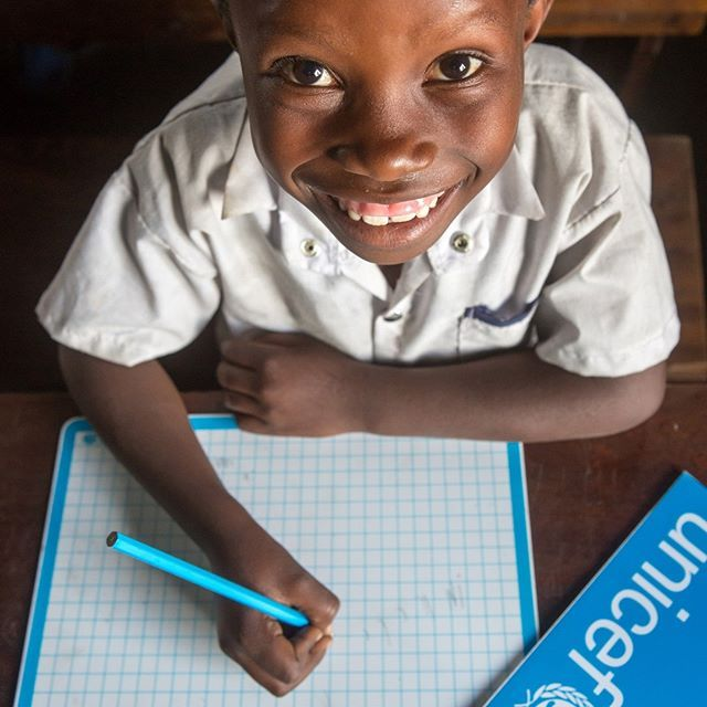Education Is What Gives Children And Young People The Skills Necessary To Build A Better Future Unicef Drc Dubourthoumieu Unicef Young People Education