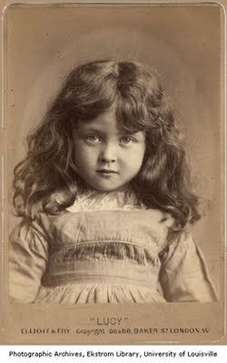 Lucy- Victorian Child Portrait (England) University Of Louisville Photographic Archives