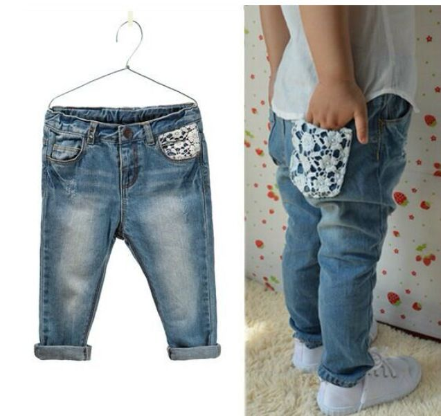 Denim jeans#denim#crochet#girlsfashion#kidsfashion