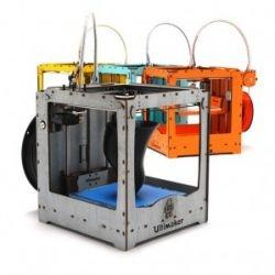 Print je idee uit in plastic in plaats van inkt. De Ultimaker is een mobiele en betaalbare do-it-yourself 3D printer, die bijna elk driedimensionaal ontwerp kan omzetten in een object. Extra bijzonder is dat iedereen bij kan dragen aan de ontwikkeling van de printer.