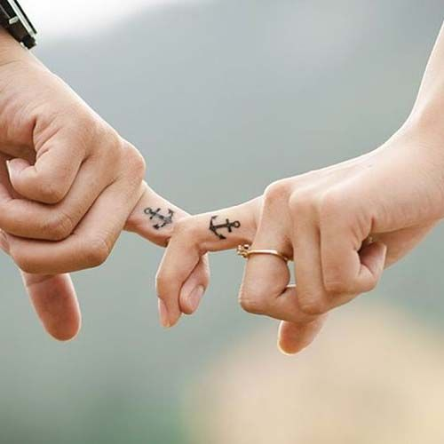 1000 ideas about anchor finger tattoos on pinterest for Do tattoos hurt on your hand