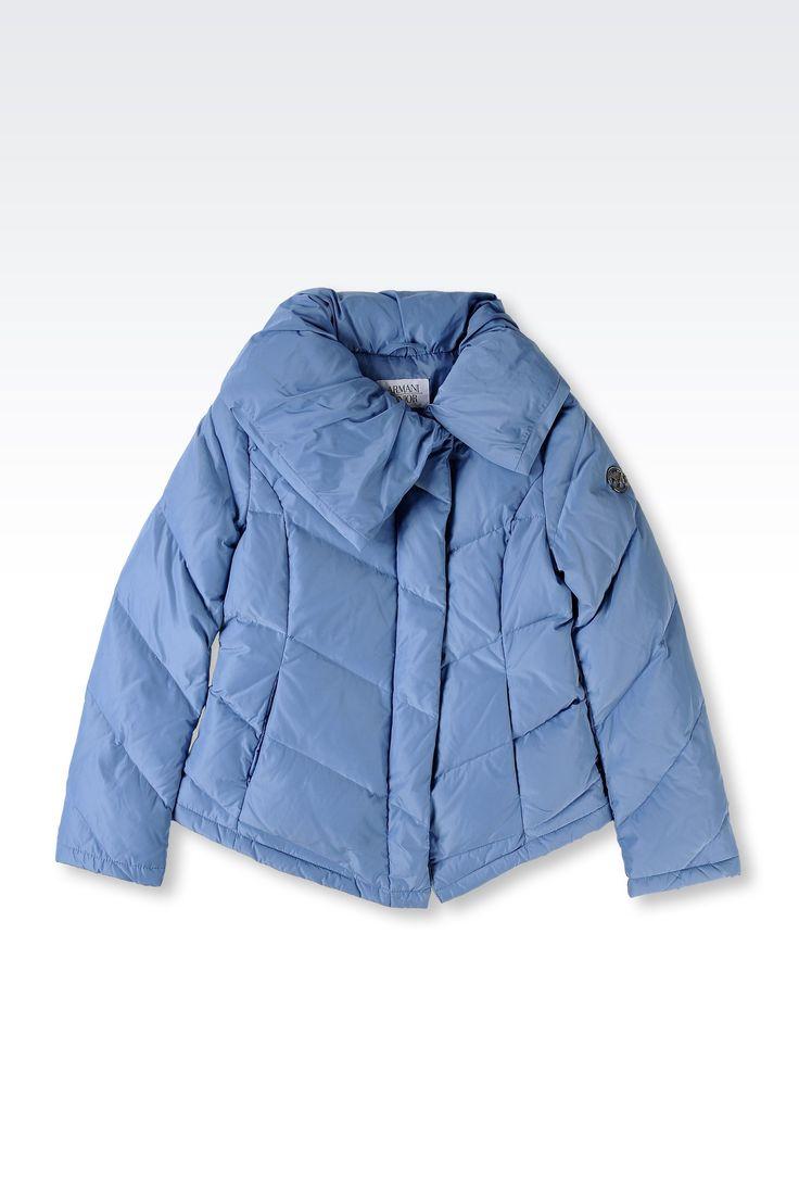 Doudoune Armani Junior - DOUDOUNE EN TISSU TECHNIQUE Armani Junior Online Store Officiel