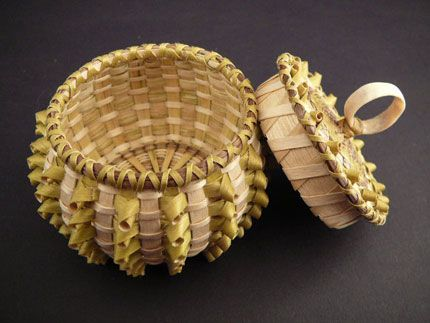 Native American Baskets by Sarah Sockbeson at Home & Away Gallery