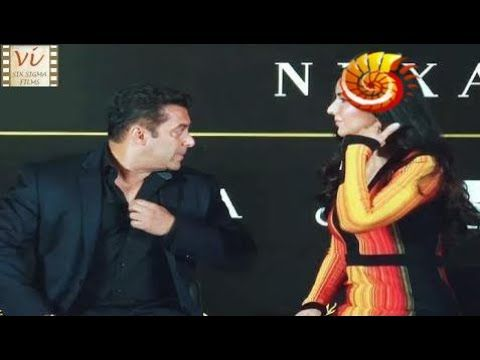 Oops Moment! Salman Khan Tells Katrina Kaif To Cover Up | Six Sigma Films  Duration: 0:49.