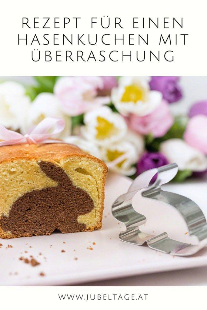 Rezept Einen Hasen Kuchen Mit Uberraschung Zu Ostern Backen Essen