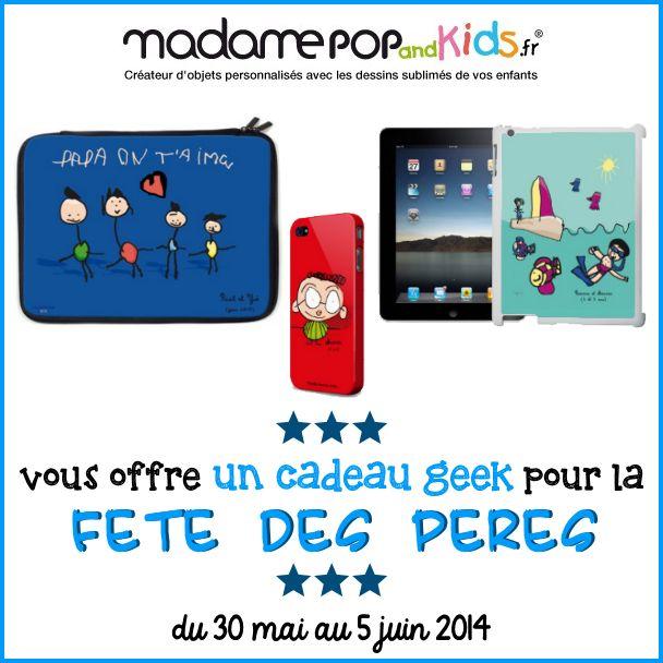 Un cadeau Madame Pop & Kids complètement geek à gagner chez Ju' de Framboise !!  http://www.ju2framboise.com/2014/05/idee-cadeau-fete-des-peres-madame-pop-and-kids.html