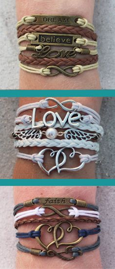 Choose 3 FREE ModWrap charm bracelets (over 60 options) and just pay shipping. Coupon: 3PINTEREST Sale ends December 31, 2014. See all the bracelets here --> http://www.gomodestly.com/3-pinterest-sale/