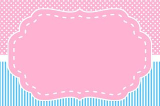 Rotulos para download. Pink and Blue