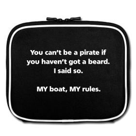 You can't be a pirate