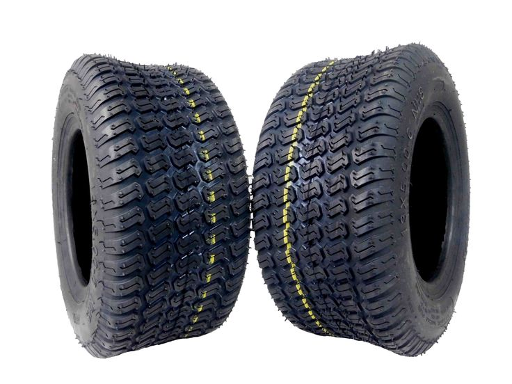 MASSFX 13x5-6 Lawn Mower Tires 4ply 2-Pack