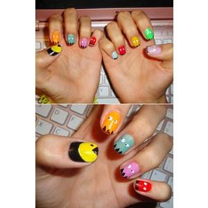 Pac Man nails :D