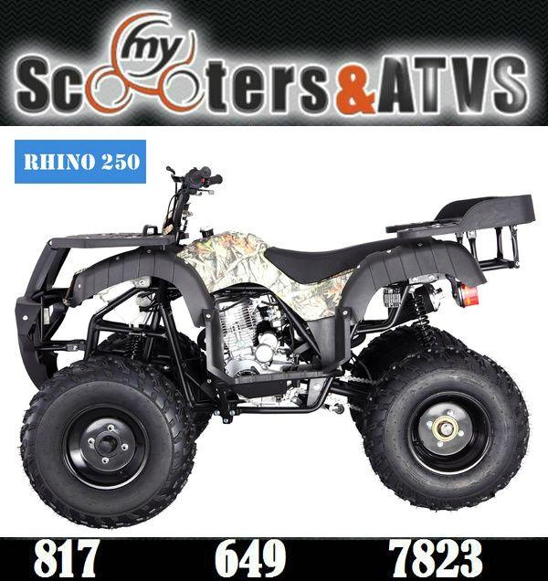 TaoTao RHINO 250 (ATA-250D) ATV. Sale Price: $1,099.00