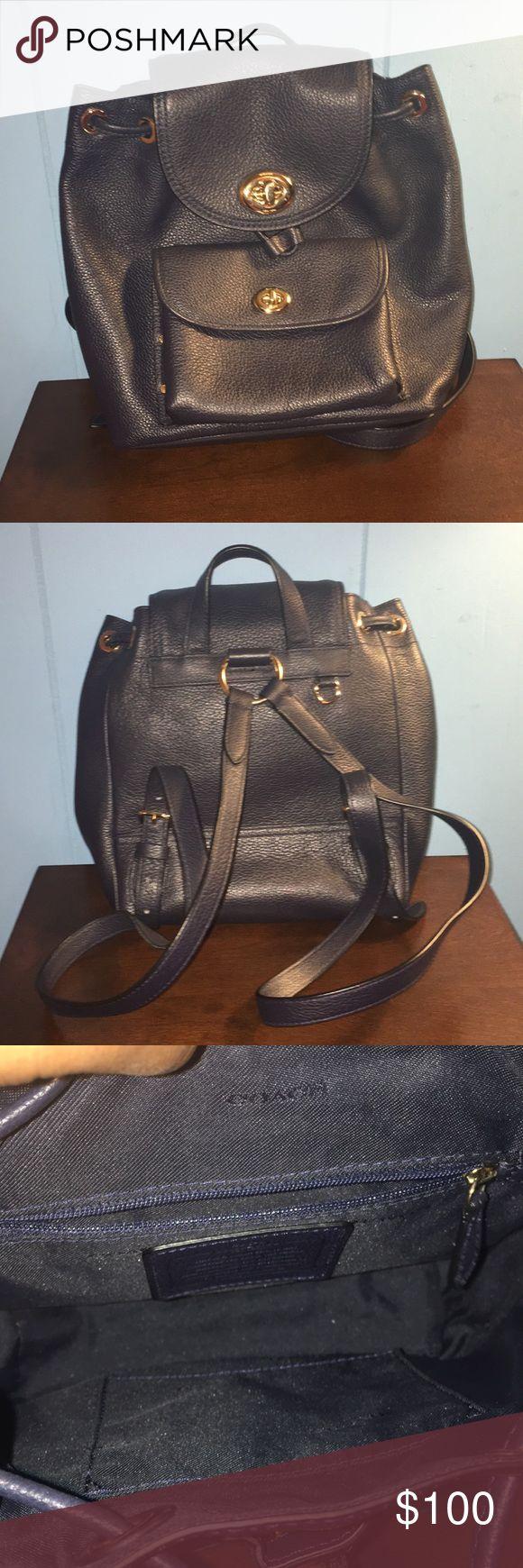 Mini Navy Coach Backpack Mini Navy Coach Backpack Coach Bags Backpacks