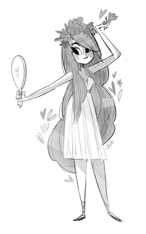 my aphrodite doodle oodle for today's sketch dailies   ★ || CHARACTER DESIGN REFERENCES™ (https://www.facebook.com/CharacterDesignReferences & https://www.pinterest.com/characterdesigh) • Love Character Design? Join the #CDChallenge (link→ https://www.facebook.com/groups/CharacterDesignChallenge) Share your unique vision of a theme, promote your art in a community of over 50.000 artists! || ★