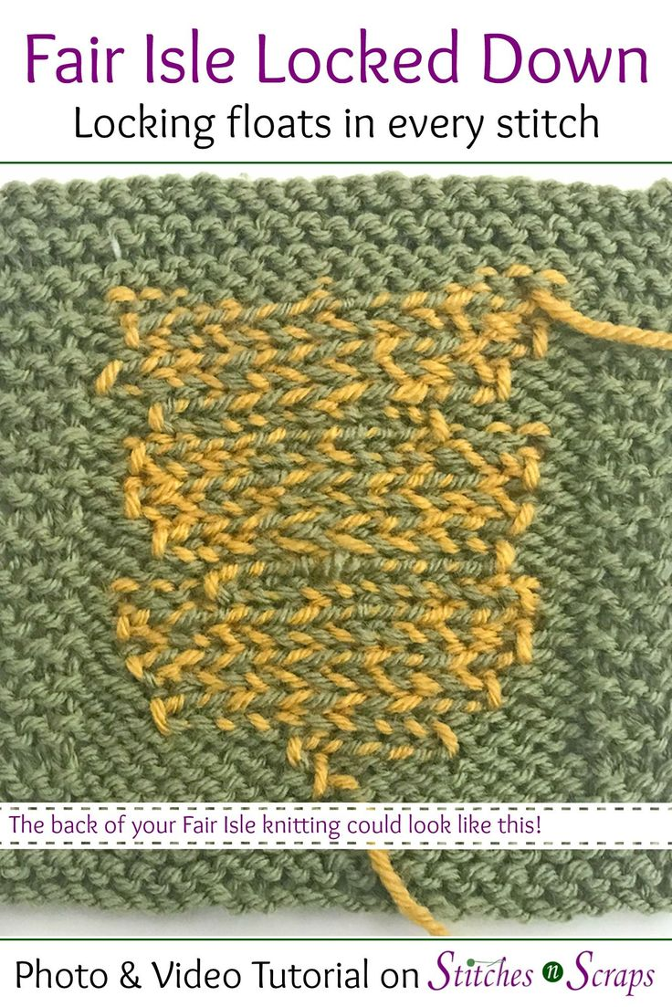 How To Easy Master German Short Rows - Stylishknitting