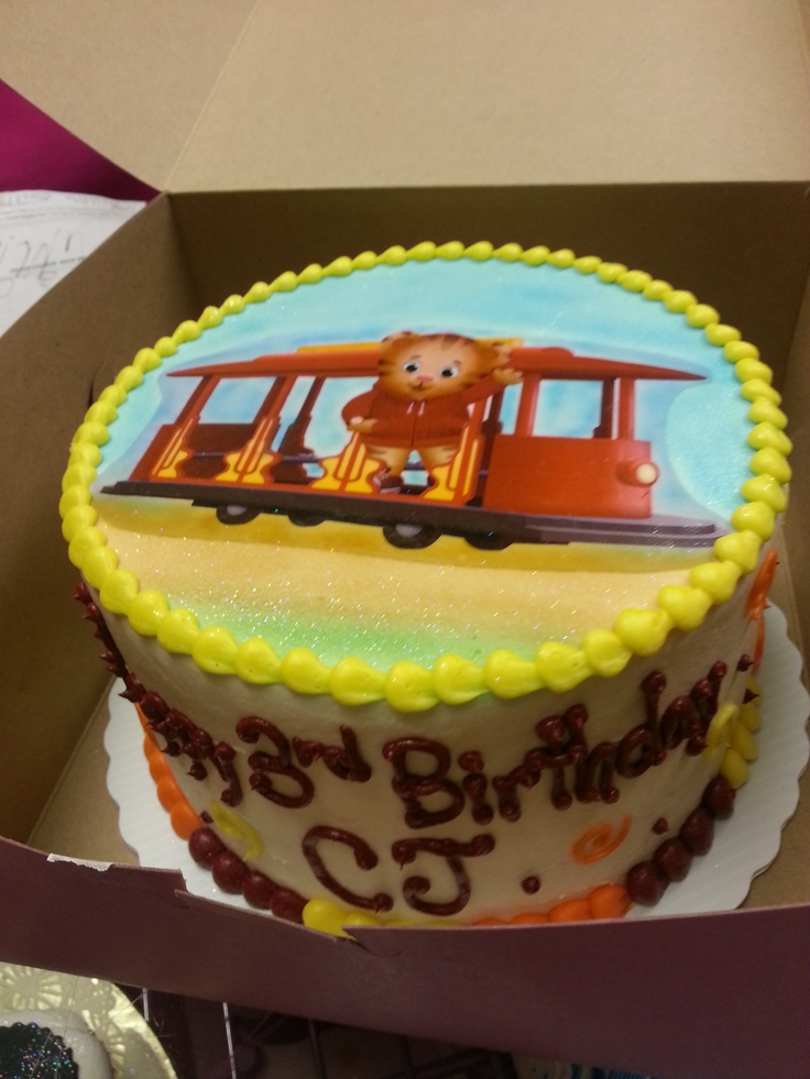 Daniel Tiger Birthday Cake. Birthday Ideas Pinterest ...