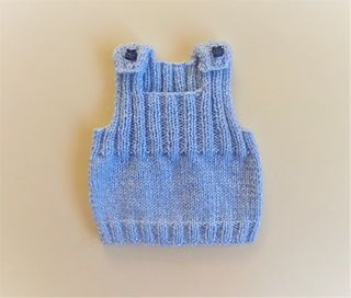 Ravelry: Ribster Baby Vest Top pattern by marianna mel