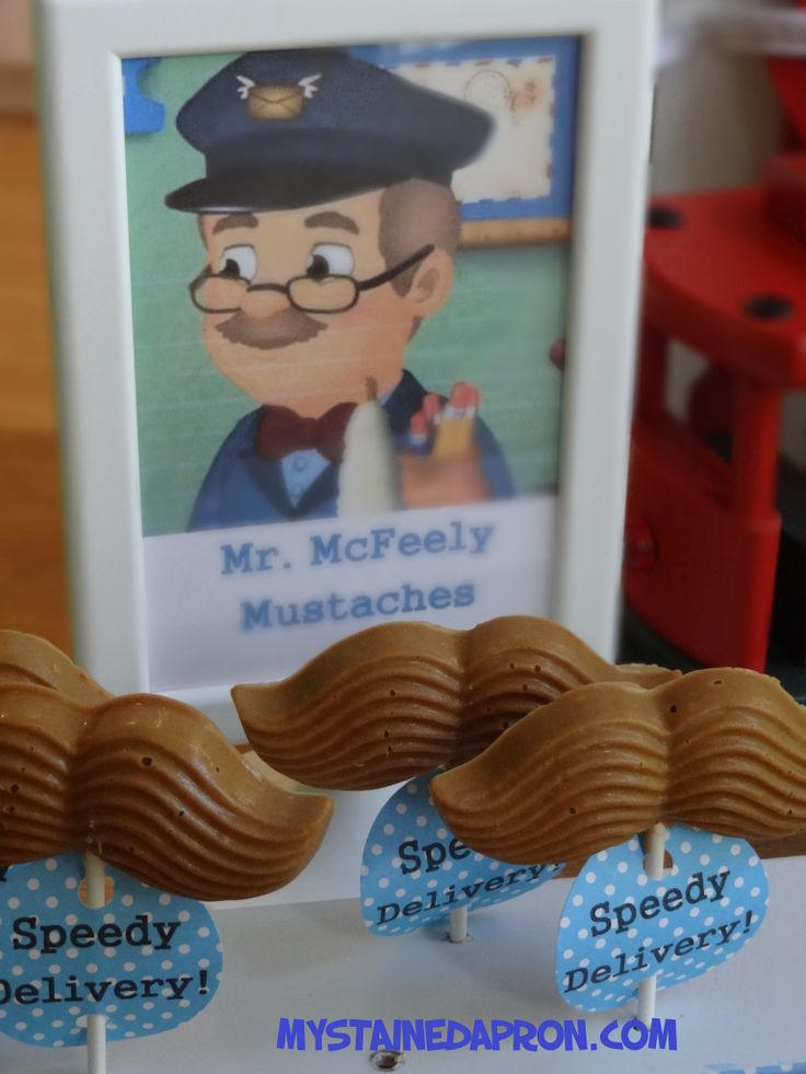 Mr McFeely Mustaches!