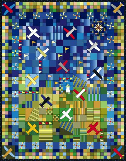 quilts in airplane fabric | collections blog contact fabric embellish log in airplane quilt book