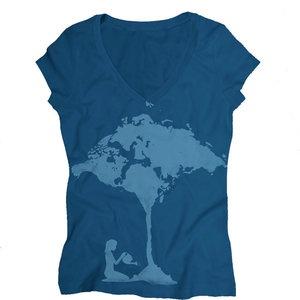 34 best t shirt design ilike images on pinterest diy clothes diy world map tree tshirt gumiabroncs Images