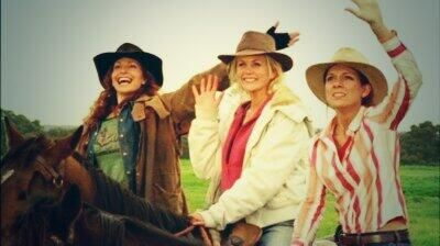Country Gals from McLeod's Daughters..rockin their hats!