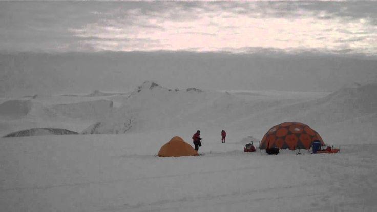 Antarctica Vinson Massif Basecamp