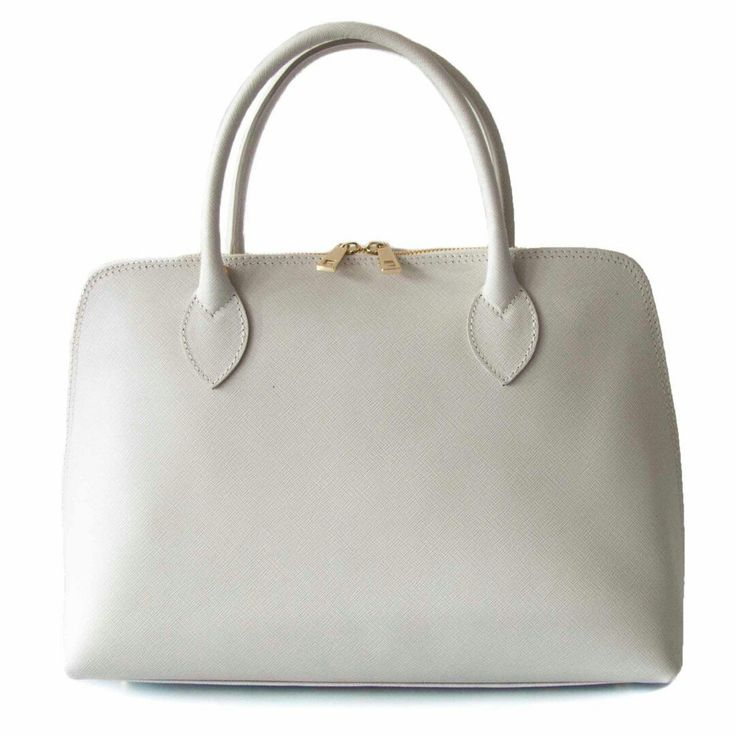 a cream classical elegant bag good for the spring perfect also for weddings