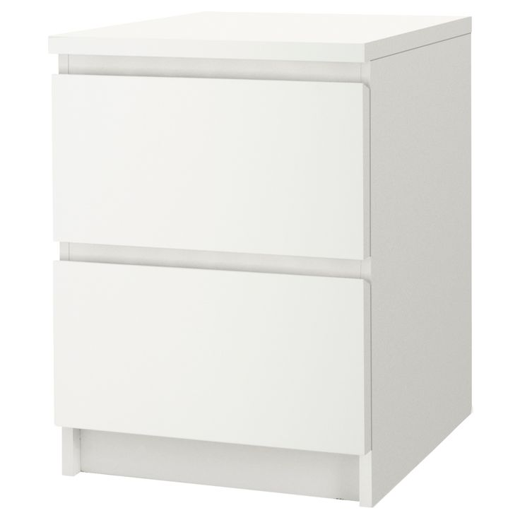 "MALM Chest with 2 drawers - white, 15 7/8x21 5/8 "" - IKEA $39.99"