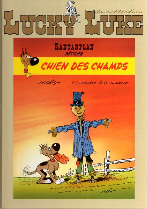 Lucky Luke - La collection (Hachette) -86- Rantanplan - Chien des champs (Bêtisier 4)