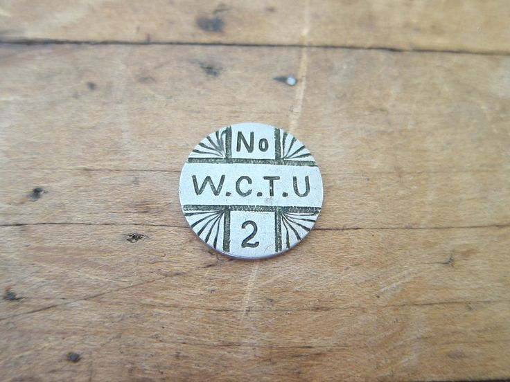Temperance Movement Silver Coin - 1887 WCTU No. 2 Liberty Dime